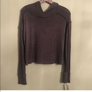 Free People Hooded Sweater. Size XS. NWT.